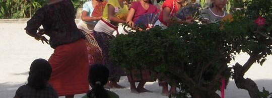 Dancing Girls in Lembogan, Indonesia