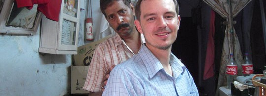 Getting a Haircut in Varanassi, India