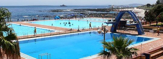 Seapoint Swimming Pool, Cape Town, South Africa