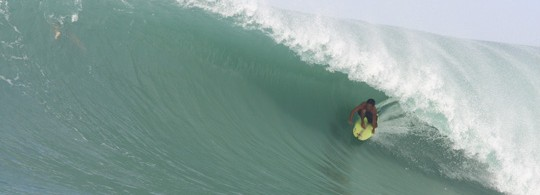 Indo Tube in Nias, Indonesia
